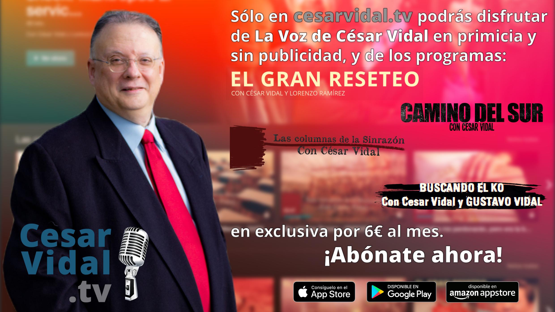Suscríbete a cesarvidal.tv
