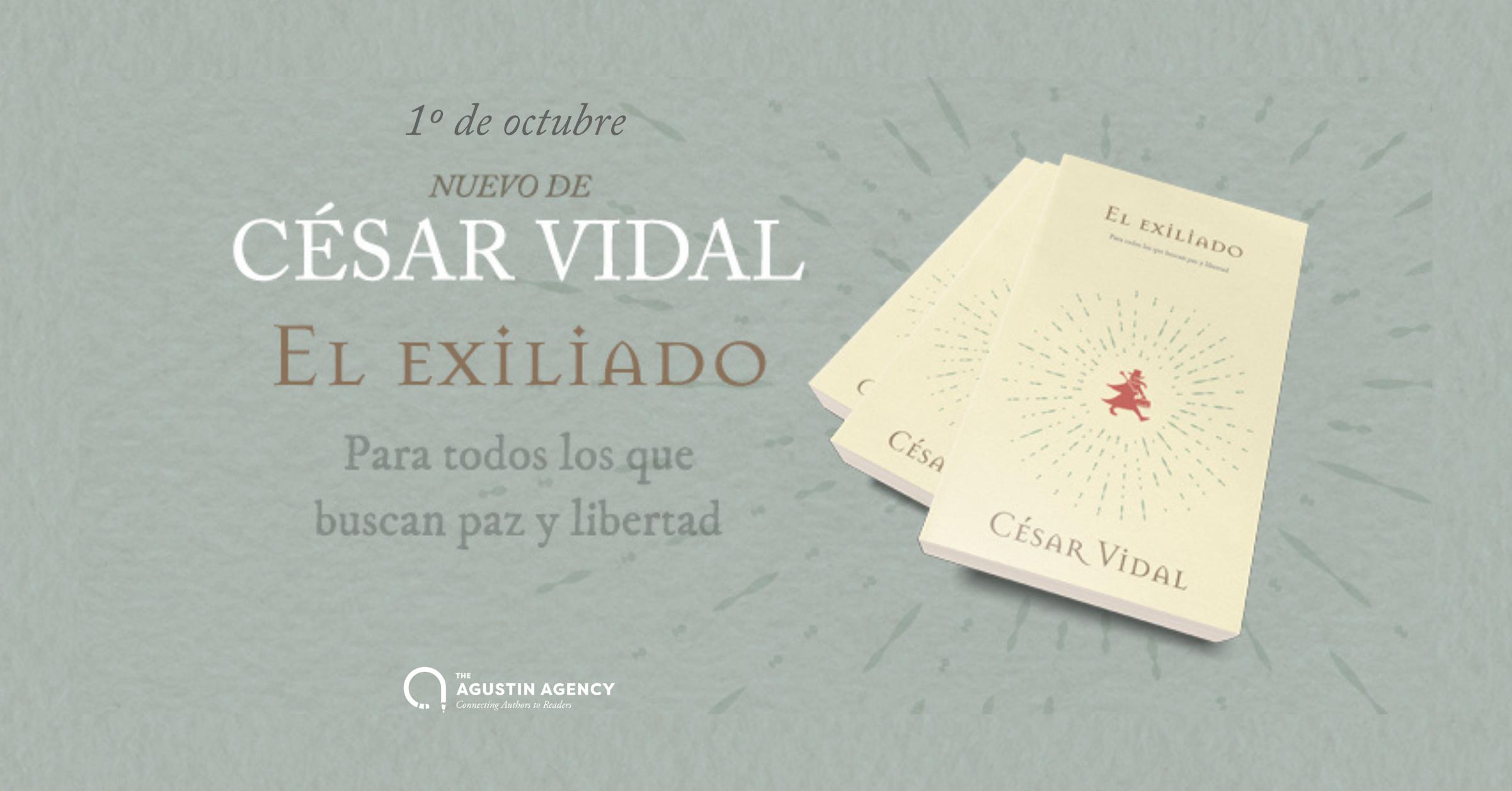 Compra ahora 'El Exiliado' de César Vidal en Amazon.