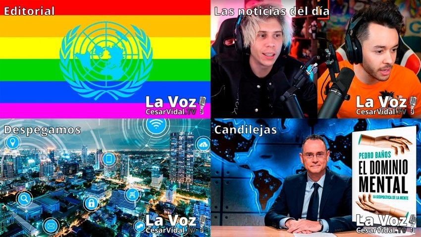 Programa Completo de La Voz de César Vidal - 19/02/21