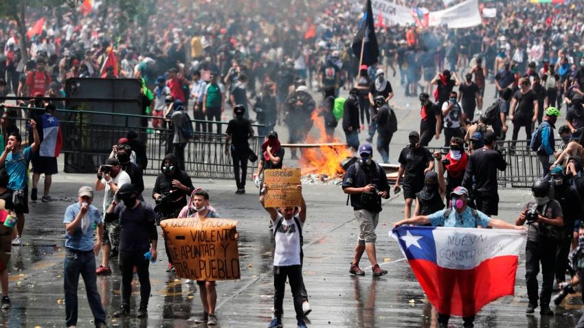 Editorial: Chile: objetivo de la subversión globalista - 08/11/19