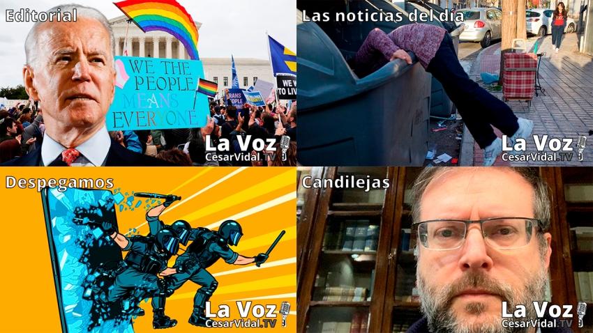 Programa Completo de La Voz de César Vidal - 15/01/21