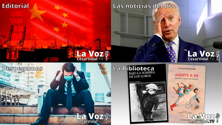 Programa Completo de La Voz de César Vidal - 13/05/21