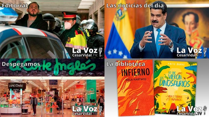 Programa Completo de La Voz de César Vidal - 25/02/21