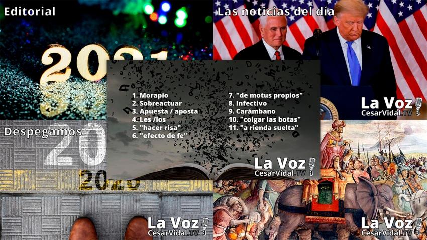 Programa Completo de La Voz de César Vidal - 11/01/21