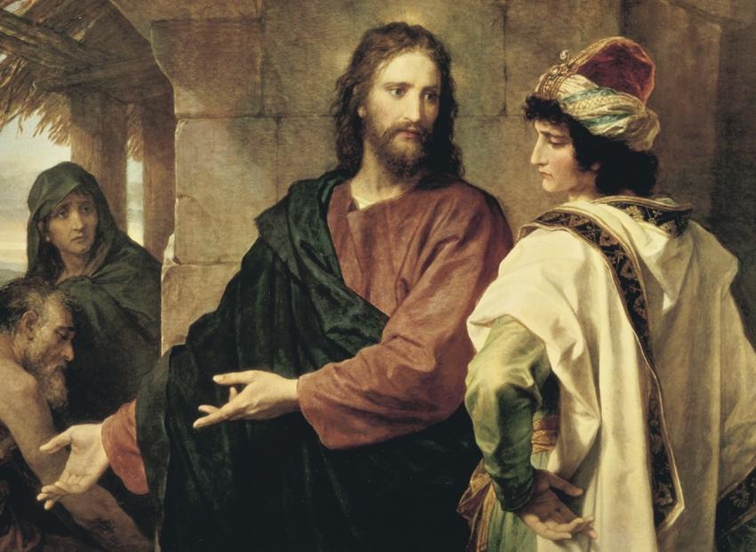 Lucas, un evangelio universal (XLVI): (18: 1-34): lo que realmente importa