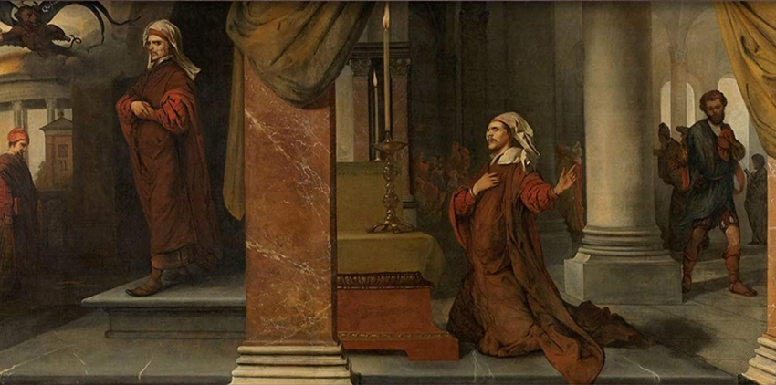 Lucas, un evangelio universal (XLV): (18: 1-14): todo es gracia