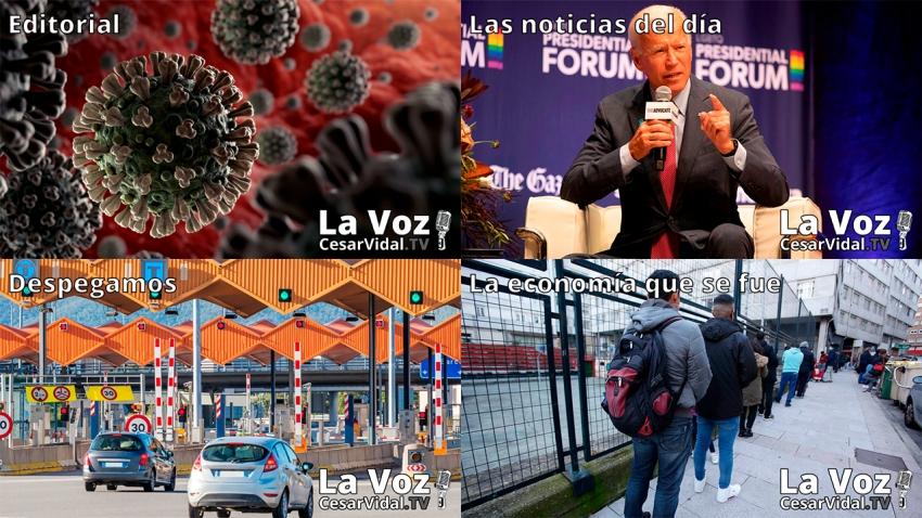 Programa Completo de La Voz de César Vidal - 24/11/20