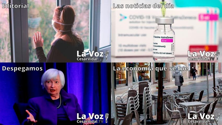 Programa Completo de La Voz de César Vidal - 06/04/21