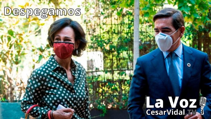 Despegamos: La desesperación de Ana Botín para salvar al Santander: fusión y dividendo - 22/09/20