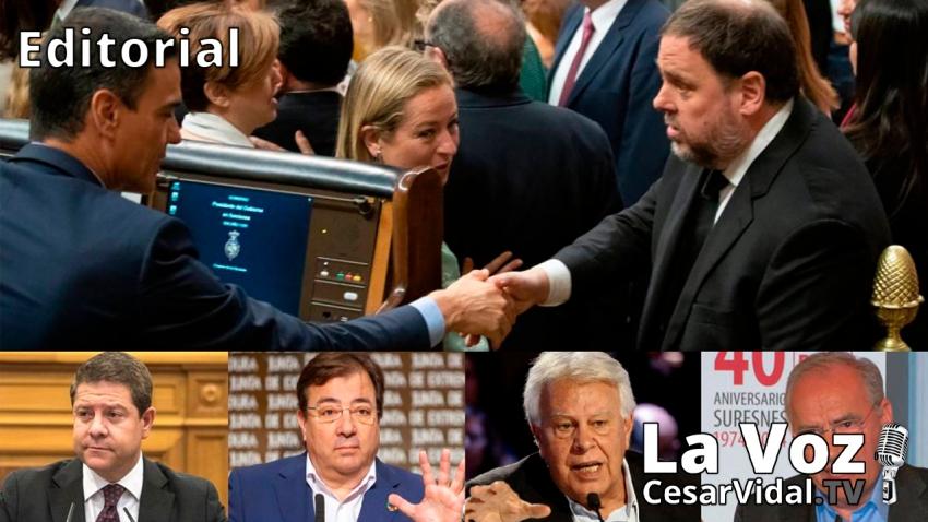 Editorial: Socialistas históricos contra el indulto de los golpistas catalanes - 18/06/21