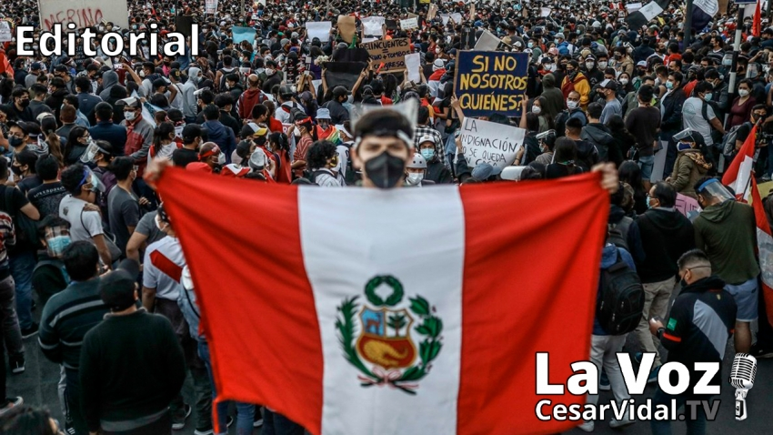 Editorial: Perú hacia el abismo - 17/11/20