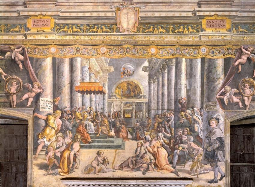 XIV.- De religión sometida a religión sometedora (VII): Recuperación y fraudes píos (II): la Donatio Constantini  (II)