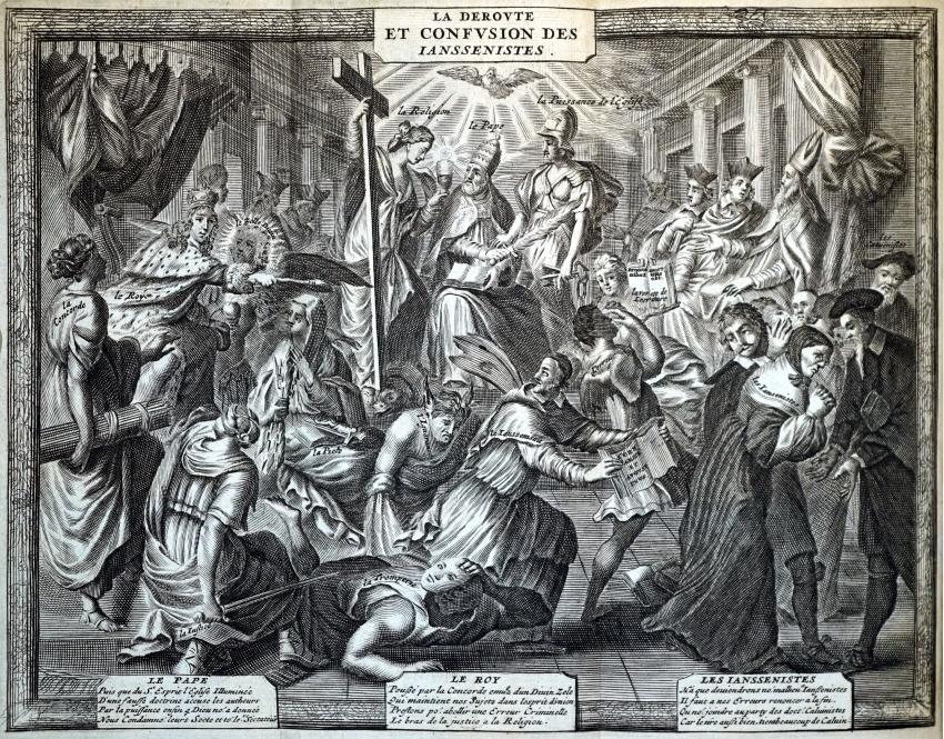 (LXXIX): De la supresión de la ilustración a la oposición del estado liberal (III). La ilustración imposible (III): Jesuitas y jansenistas