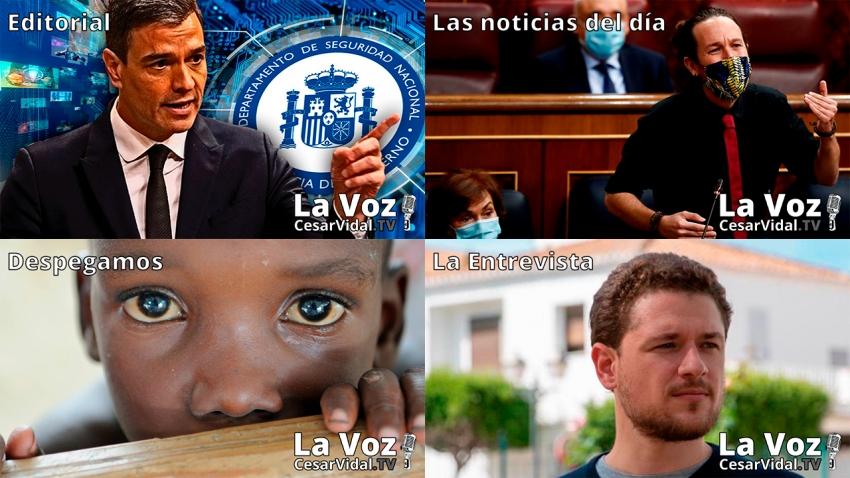 Programa Completo de La Voz de César Vidal - 16/10/20