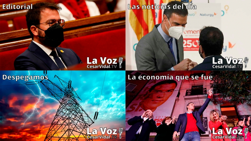 Programa Completo de La Voz de César Vidal - 08/06/21