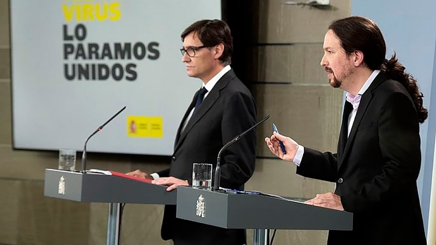 Despegamos: Escondan sus carteras: Podemos exige un nuevo impuesto por el coronavirus - 26/03/20