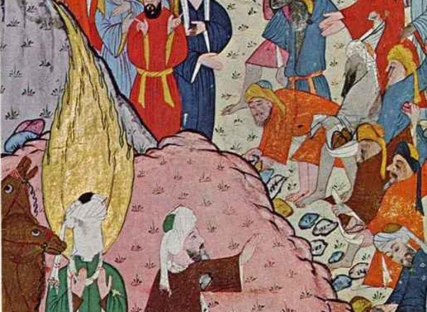 XXIV.- El tercer período mecano (619-622) (I): El intento de proyección exterior
