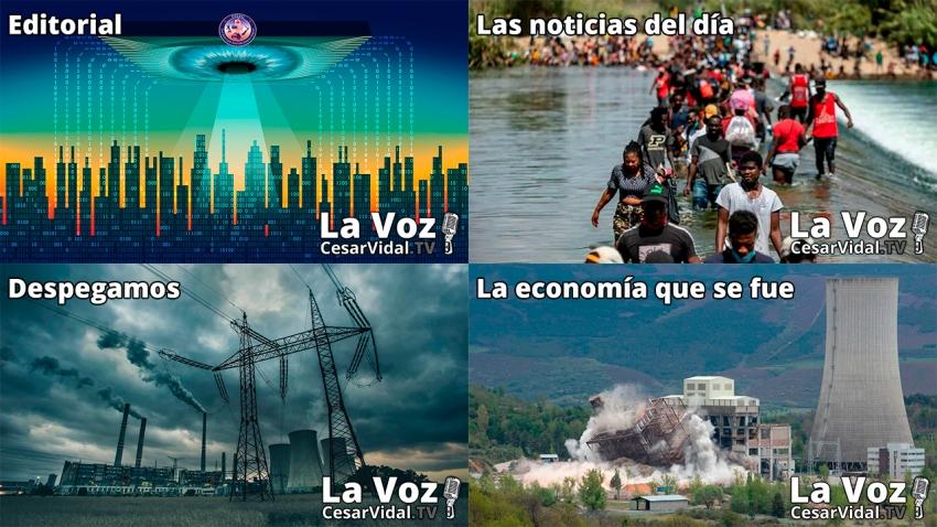 Programa Completo de La Voz de César Vidal - 21/09/21