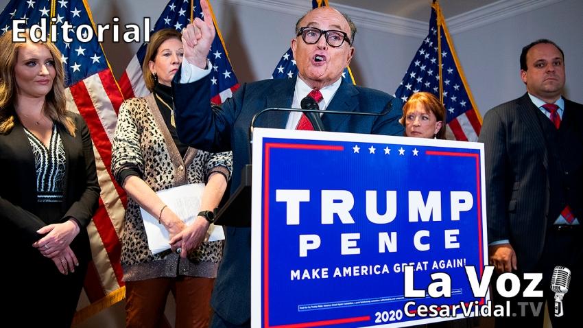 Editorial: Elecciones americanas: Las pruebas del fraude se multiplican - 20/11/20