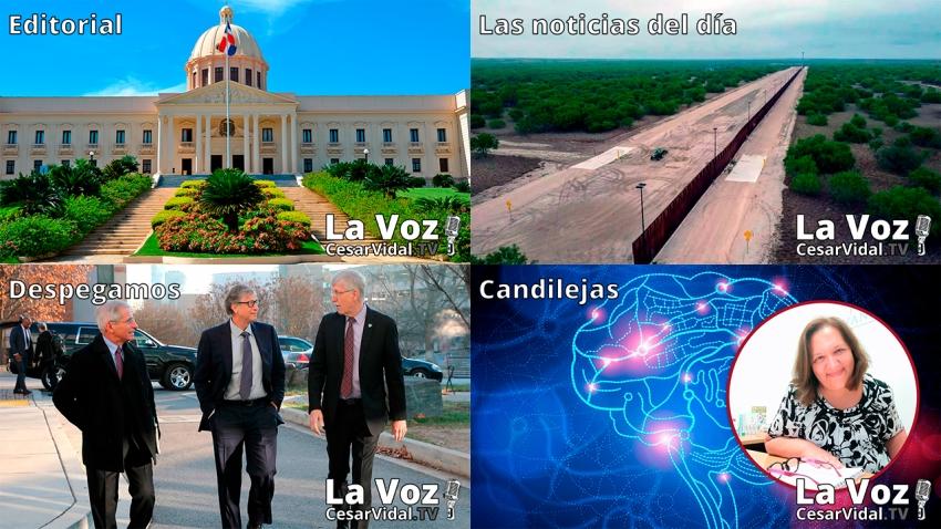 Programa Completo de La Voz de César Vidal - 11/06/21