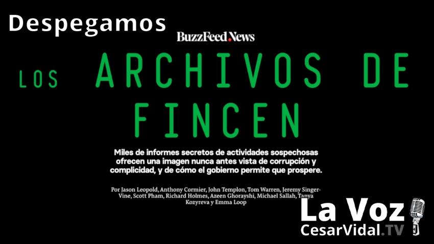 Despegamos: FinCEN Files: La bomba financiera que dinamita los cimientos de los bancos mundiales - 25/09/20