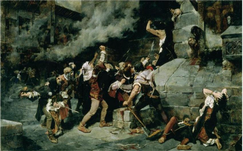 XXXIX.- El nuevo problema converso (II): de la acusación de crimen ritual a los Reyes Católicos