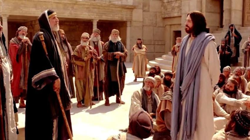 Lucas, un evangelio universal (LI):  (20: 41-47):  dos autoridades enfrentadas
