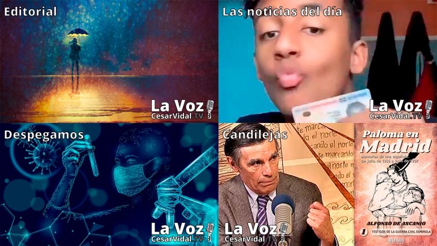 Programa Completo de La Voz de César Vidal - 14/05/21