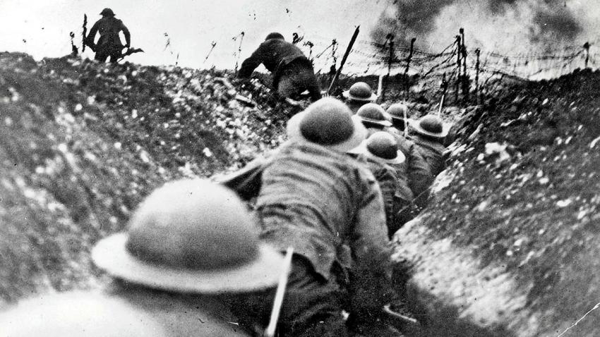 Editorial: 100 años del final de la primera guerra mundial - 12/11/18