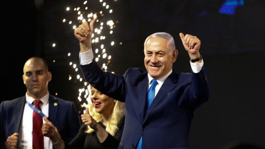 Incombustible Netanyahu