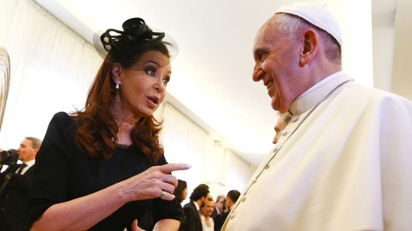 Editorial: El Papa Francisco apoya la toma del poder por Cristina Kirchner - 21/06/19