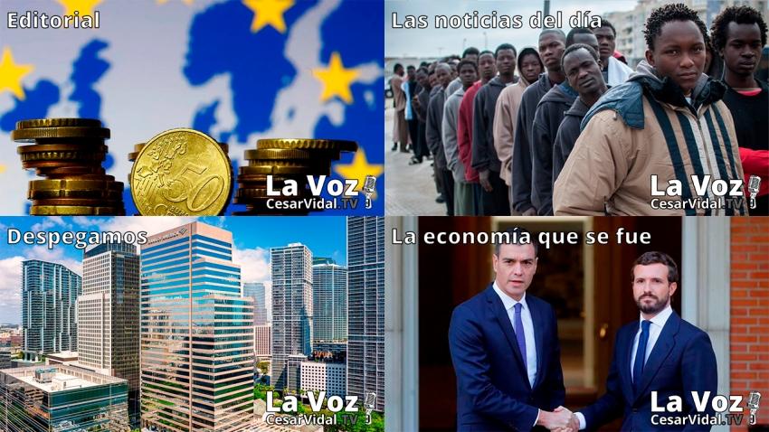 Programa Completo de La Voz de César Vidal - 23/02/21